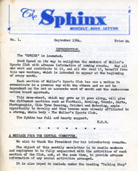 Sphinx newsletter